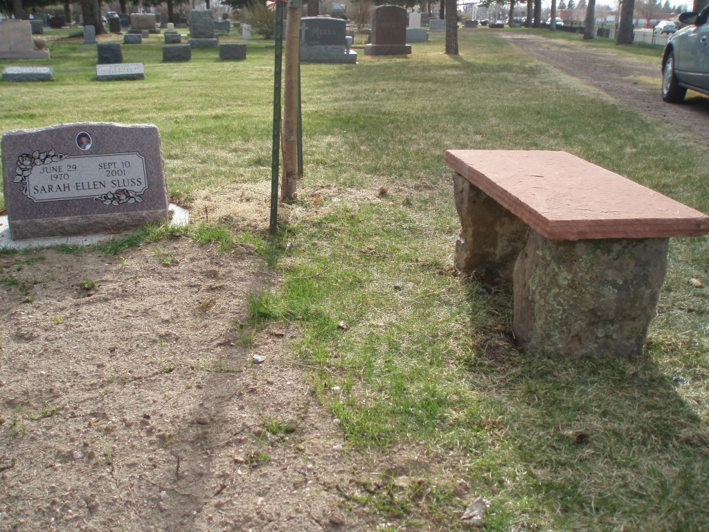 Natural Stone Memorial Benches for Cemeteries