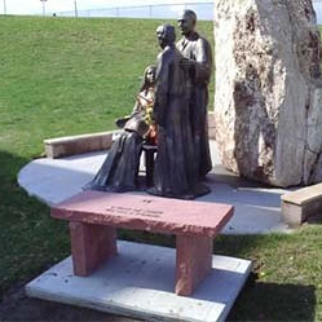 Cemetery Memorial Bench