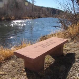 river-bench