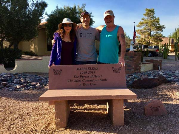 Oneill Custom Memorial Bench