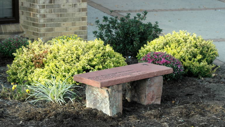 Memorial Benches- Private Gardens